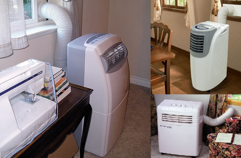 Como instalar un aire acondicionado portatil
