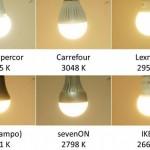 Comparativa de bombillas led de marca blanca